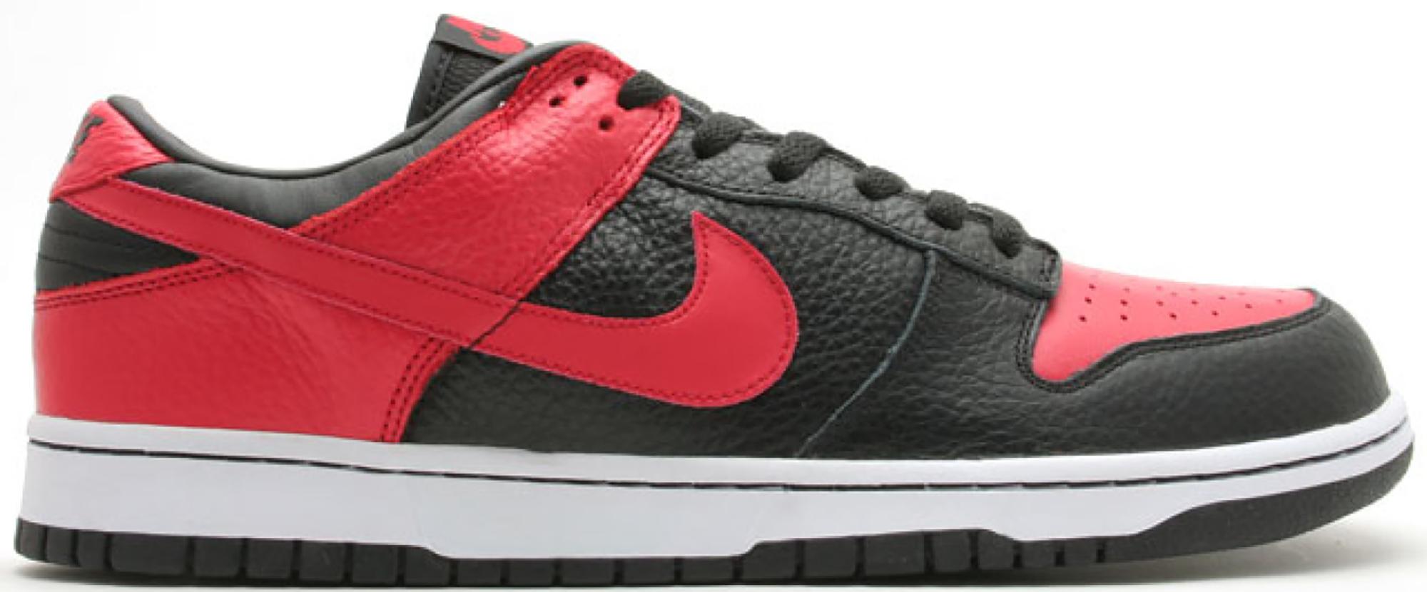 Nike Dunk Low Black Sport Red (JD