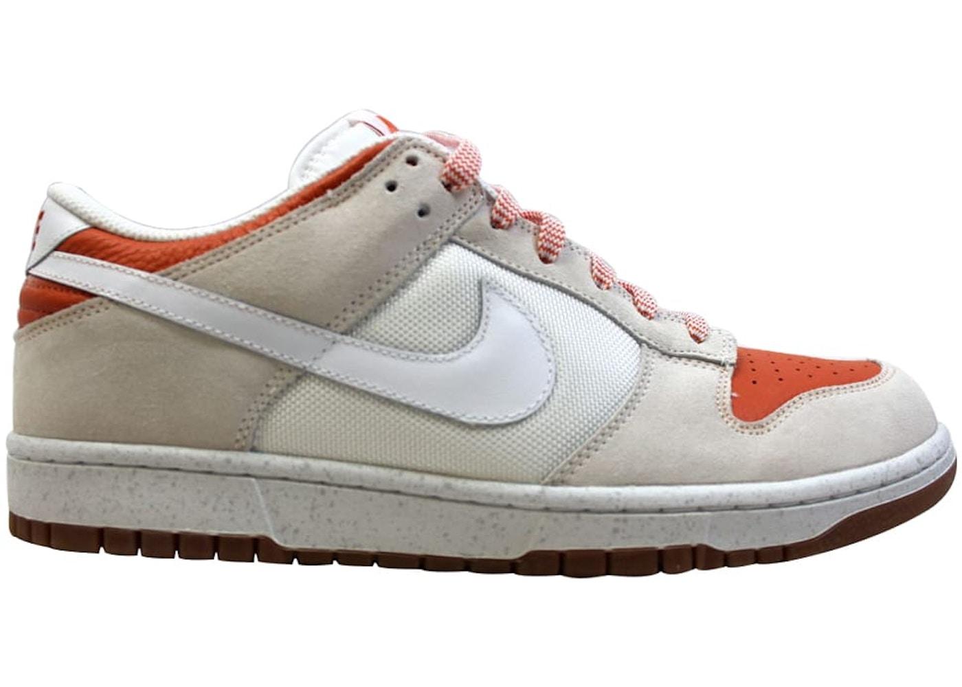 buy online 59b0e b2ac7 Nike Dunk Low Cl WhiteWhite-Hoop Orange - 318020-111