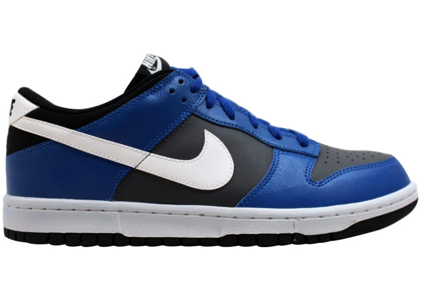 official photos 45f08 f67de Nike Dunk Low Dark Grey White-Game Royal-Black