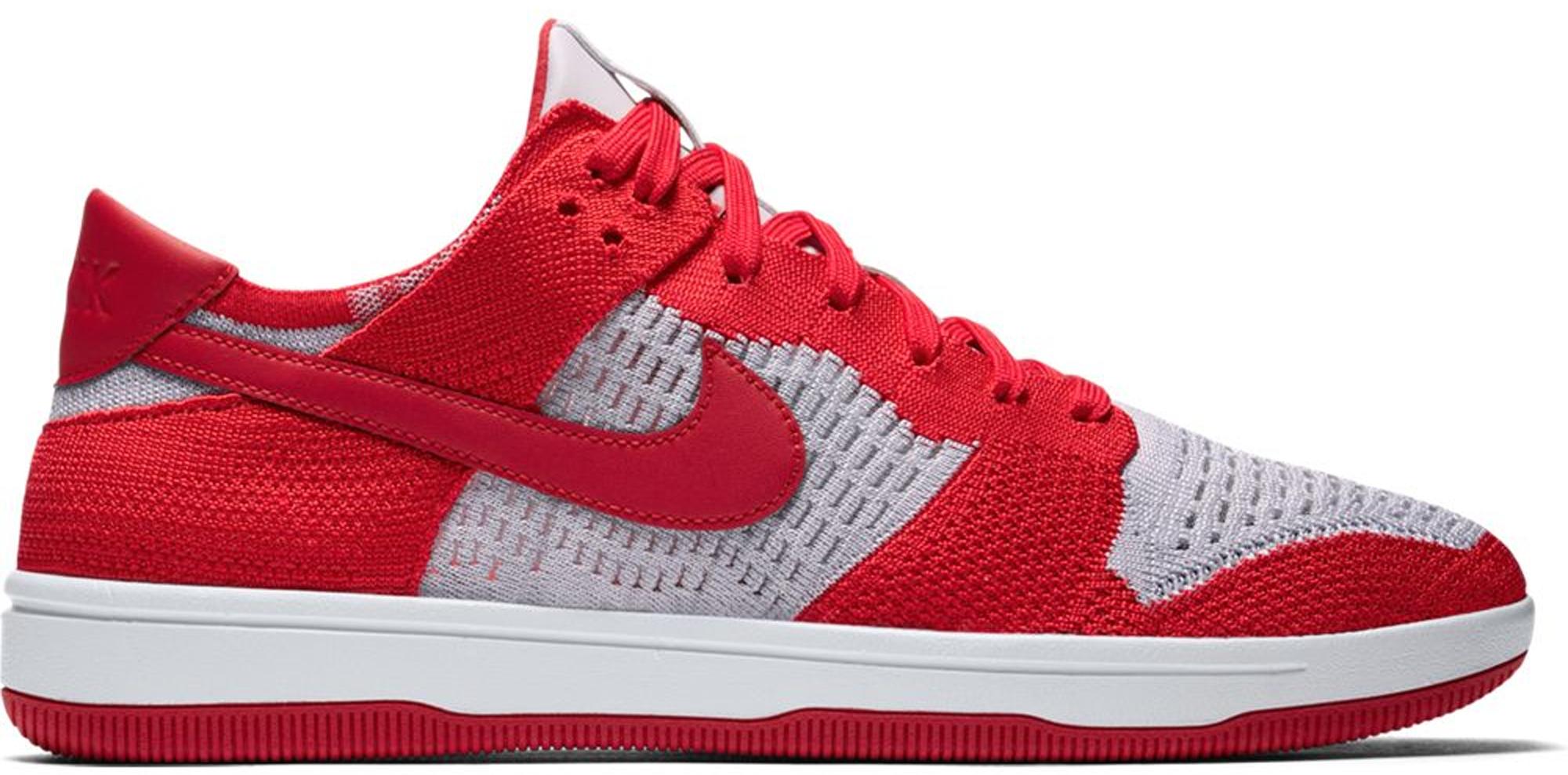 Nike Dunk Low Flyknit University Red