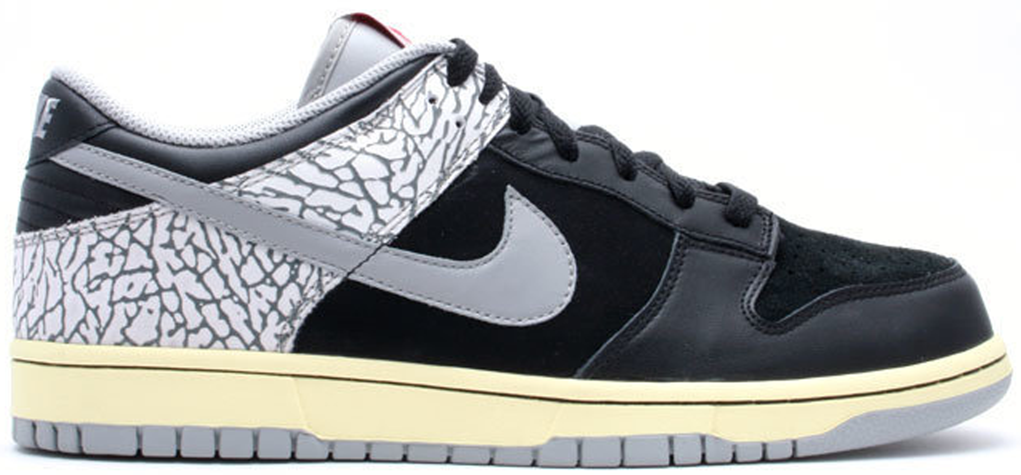 Nike Dunk Low J-Pack Black Cement (2009