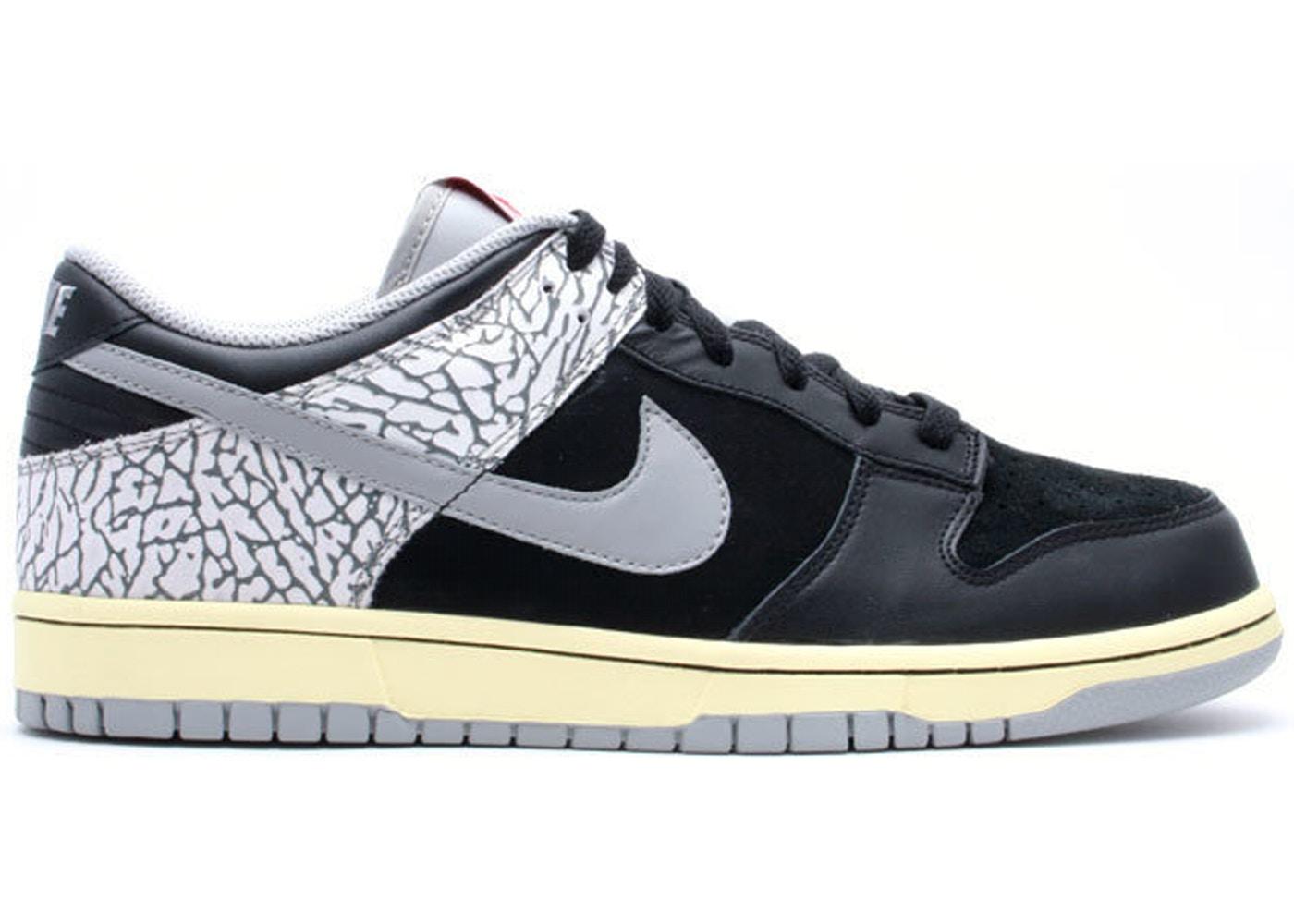 Nike Dunk Low J-Pack Black Cement (2009) - 304714-905 75e90819b