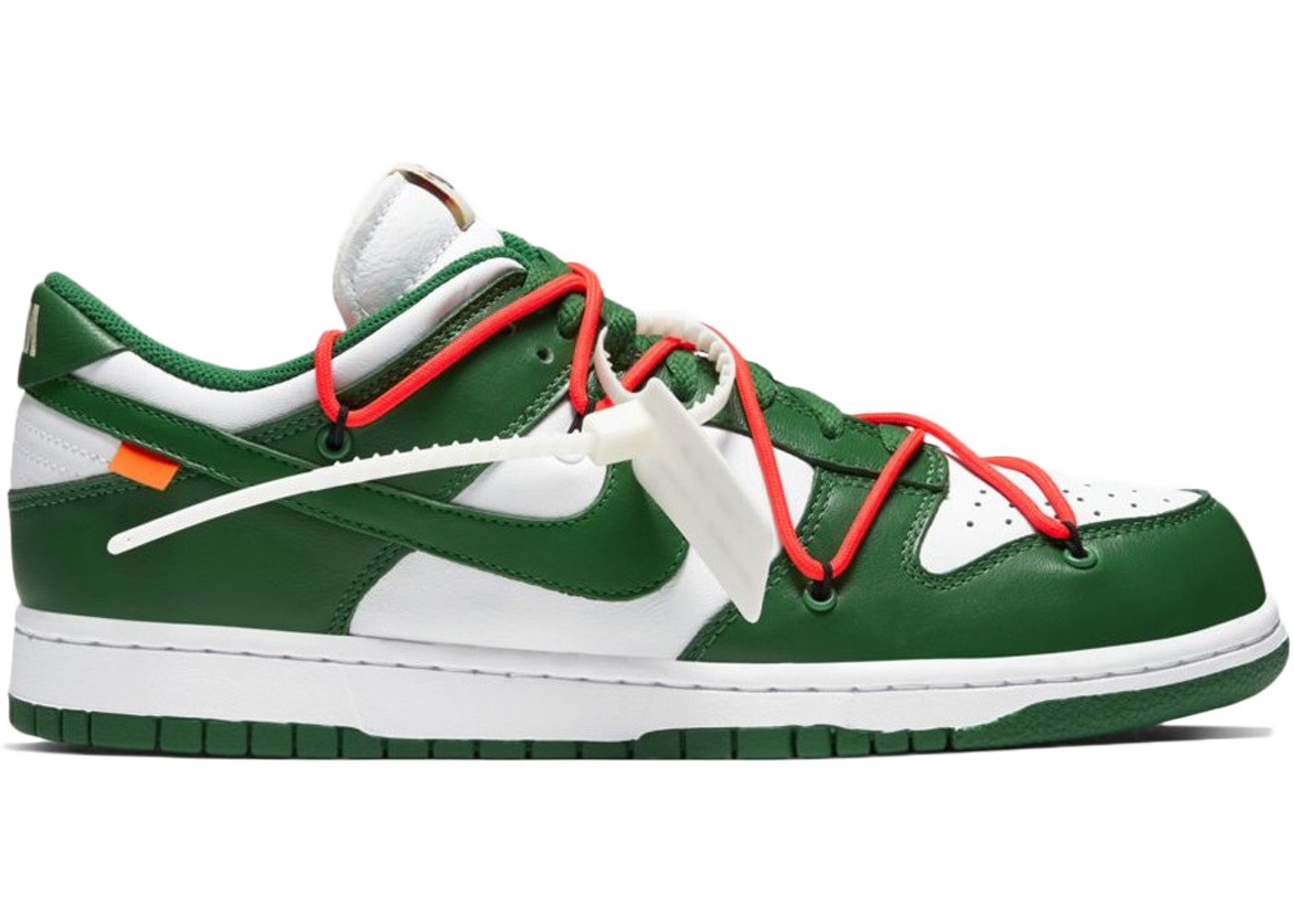 molécula logo Soberano  Nike Dunk Low Off-White Pine Green - CT0856-100
