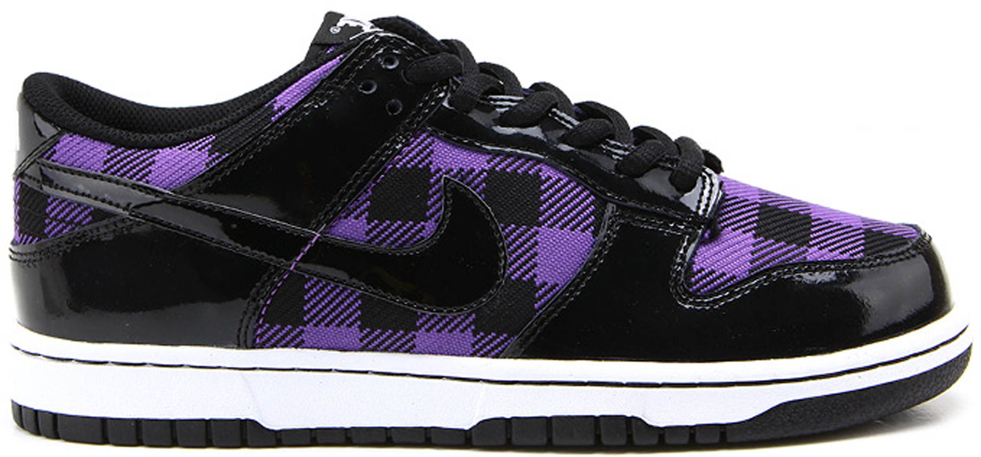 Nike Dunk Low Purple Plaid (GS)