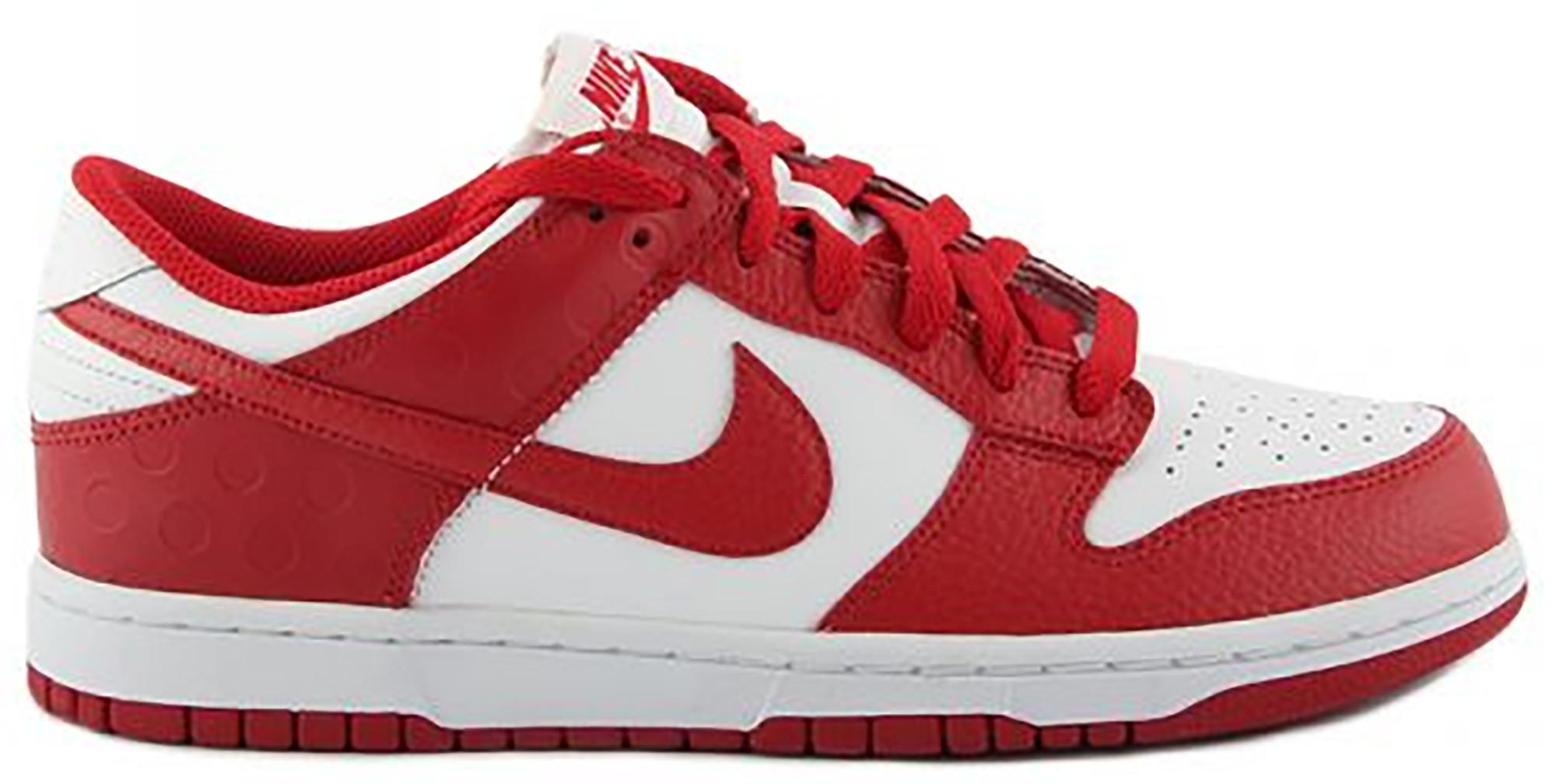 Nike Dunk Low White Varsity Red (2011