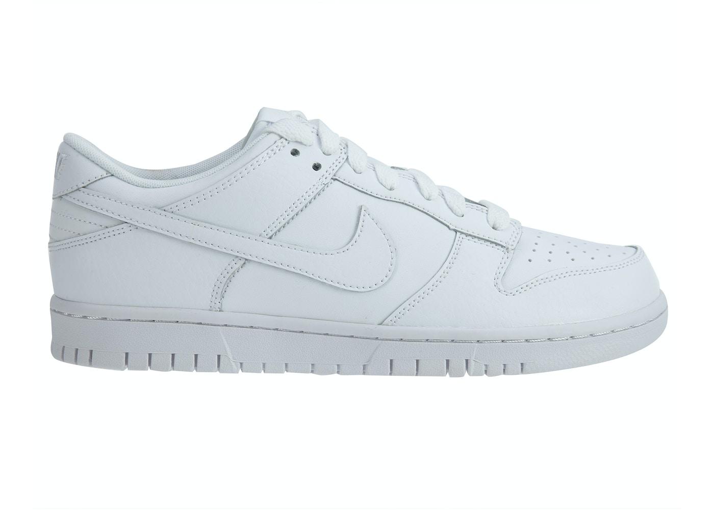 cheap for discount 04429 cc1d0 Nike Dunk Low White White-White - 904234-100