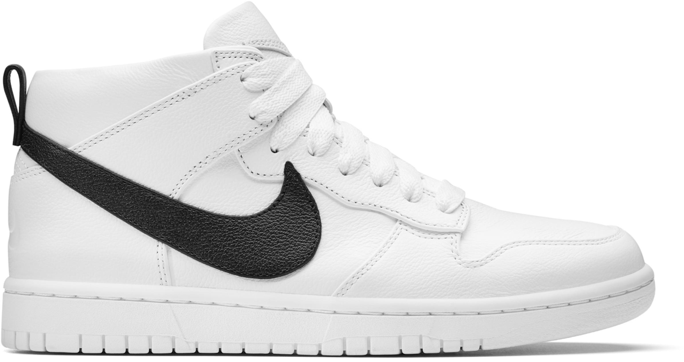 Nike Dunk Lux Chukka Riccardo Tisci White Black