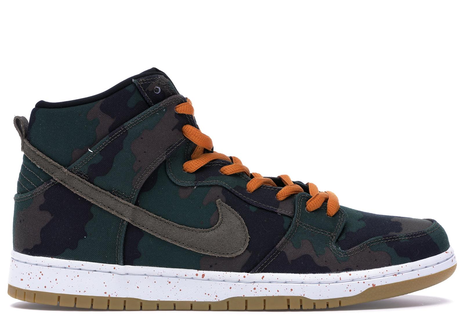 Nike Dunk SB High FiveOneO Camo