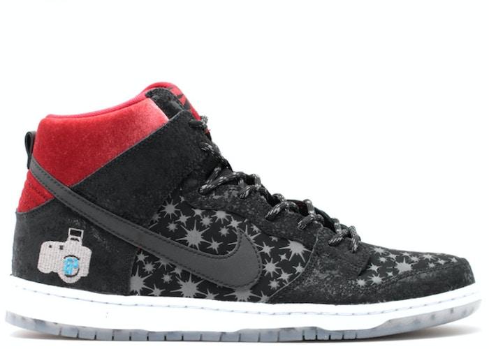 Nike Dunk SB High Brooklyn Projects Paparazzi Quickstrike