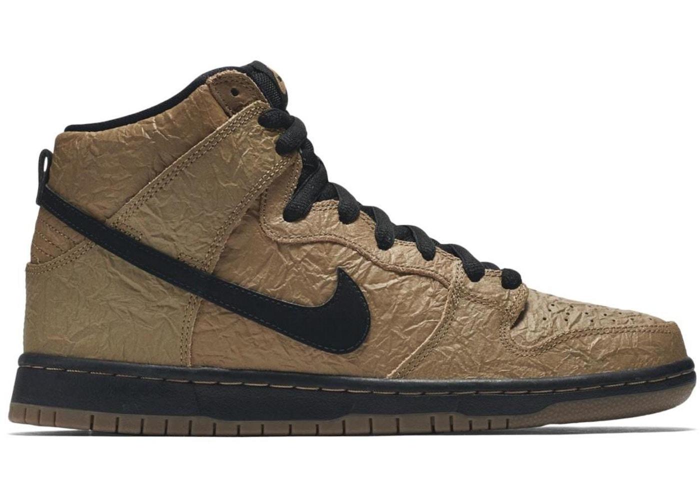 0a204579 Nike Dunk SB High Brown Bag - 313171-202