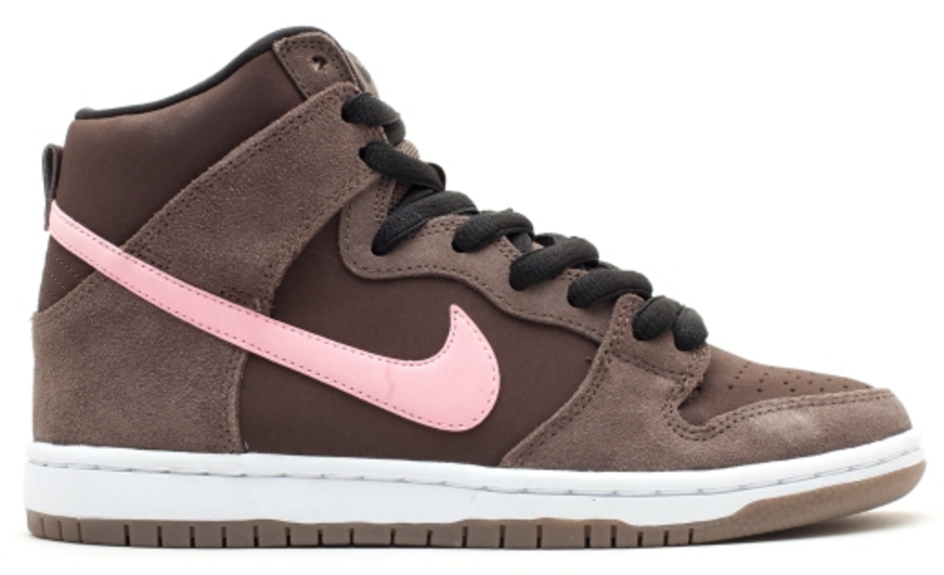 Nike Dunk SB High Chocolate Pink