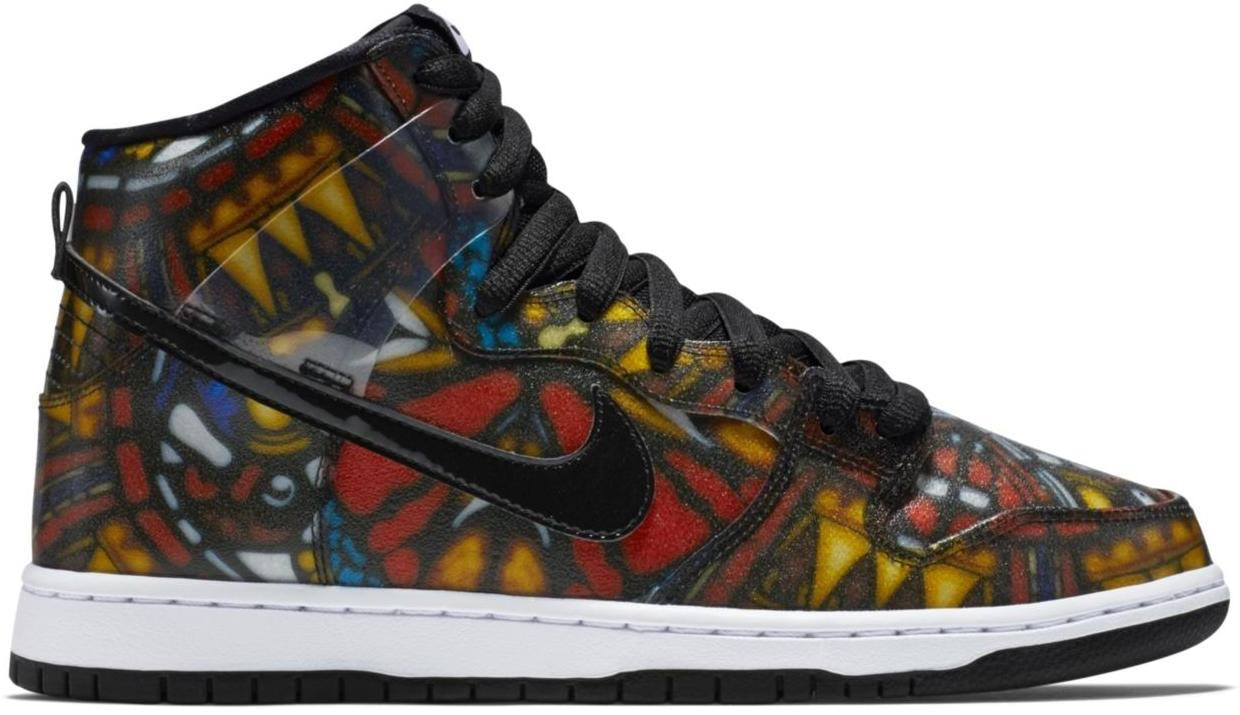 """Nike Dunk SB High Cncpts """"Stained Glass"""""""