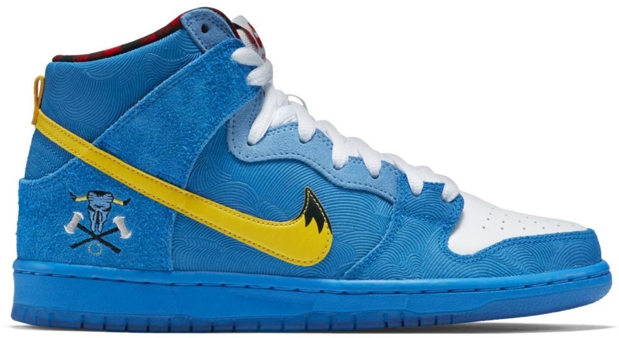 Nike Dunk SB High Familia Blue Ox