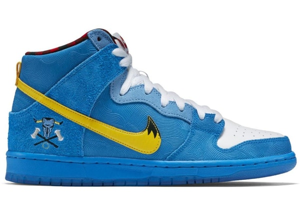 cbb052d2cab9 Nike Dunk SB High Familia Blue Ox