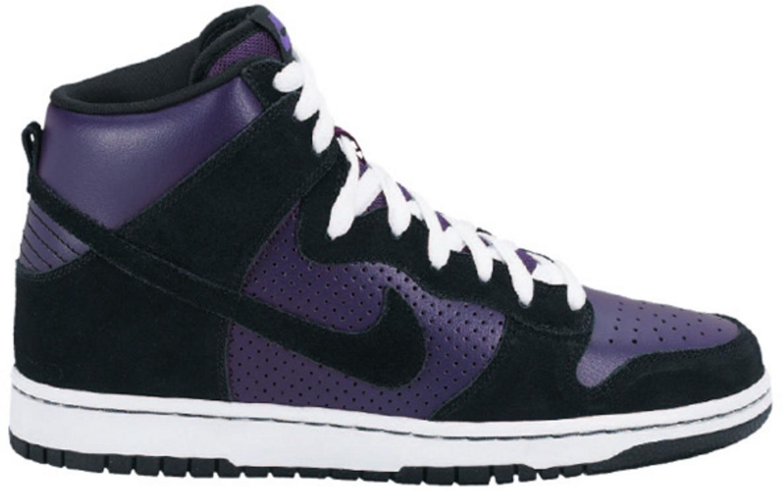 Nike Dunk SB High Grand Purple Black