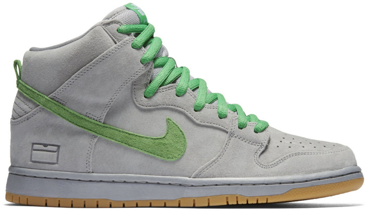 Nike Dunk SB High Silver Box