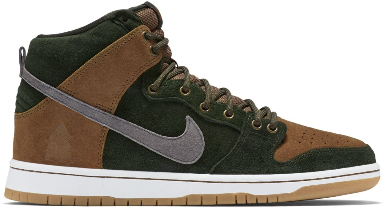 on sale 53f36 46bf5 ... reduced nike dunk sb high homegrown ale brown ea927 0bf30