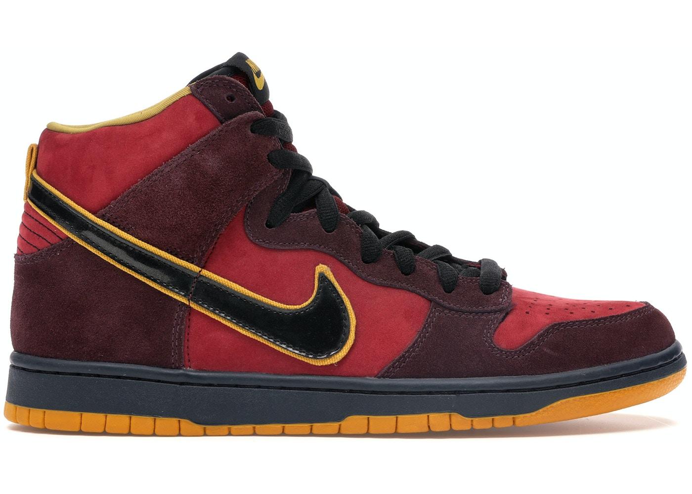 official photos d1e4b 231cb Nike Dunk SB High Iron Man - 313171-600
