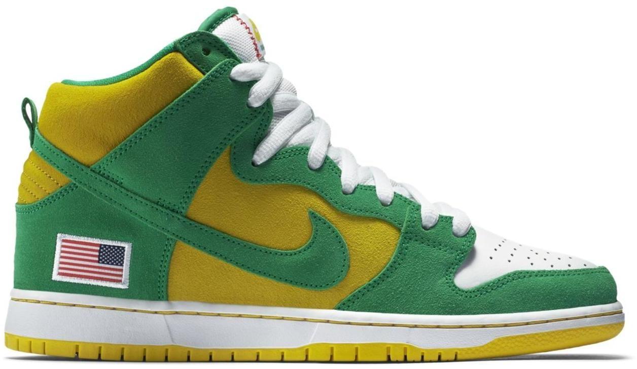 Nike Dunk SB High Oakland Athletics
