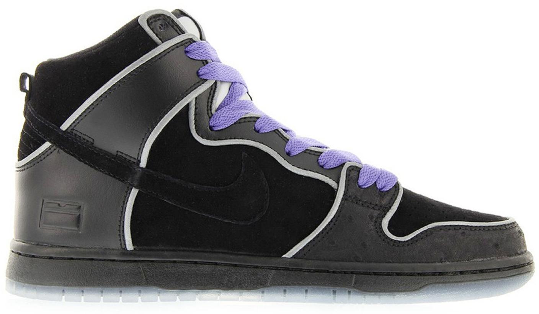 Nike Dunk SB High Black Purple Box