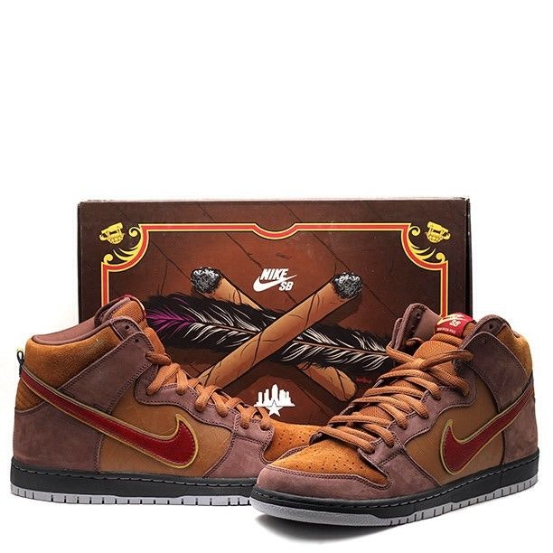 "Nike Dunk SB High SPoT ""Cigar City"" (Special Box)"