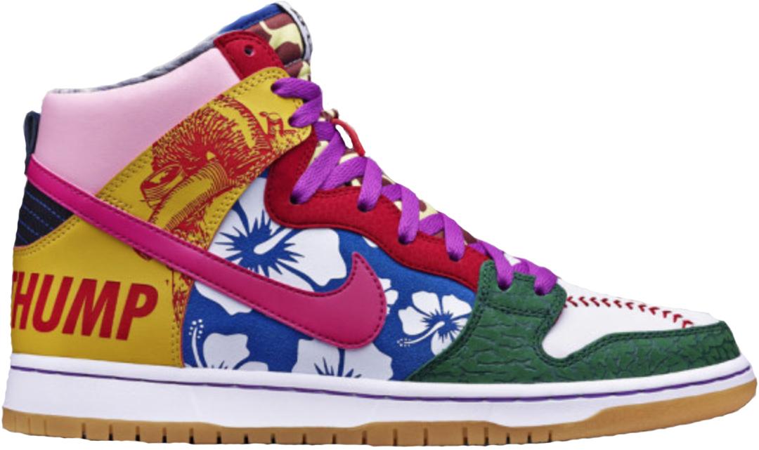 Nike Dunk SB High What the Doernbecher