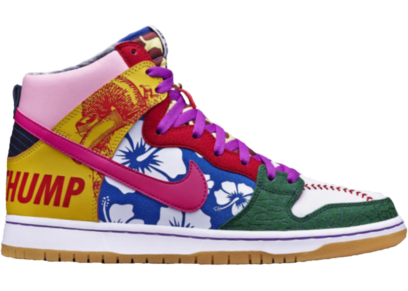 premium selection 56a88 be336 Nike Dunk SB High What the Doernbecher - 175450