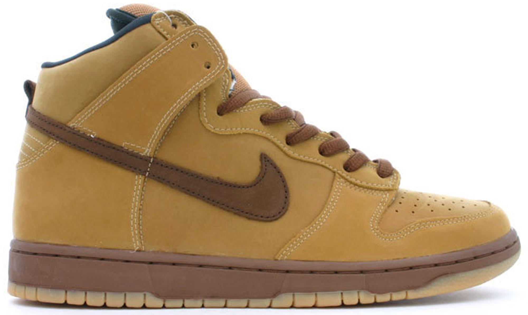 Nike Dunk SB High Wheat - 305050-221