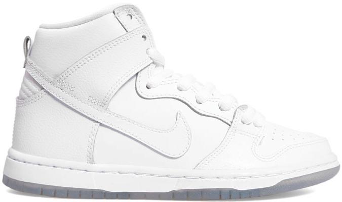 Nike Dunk SB High White Ice