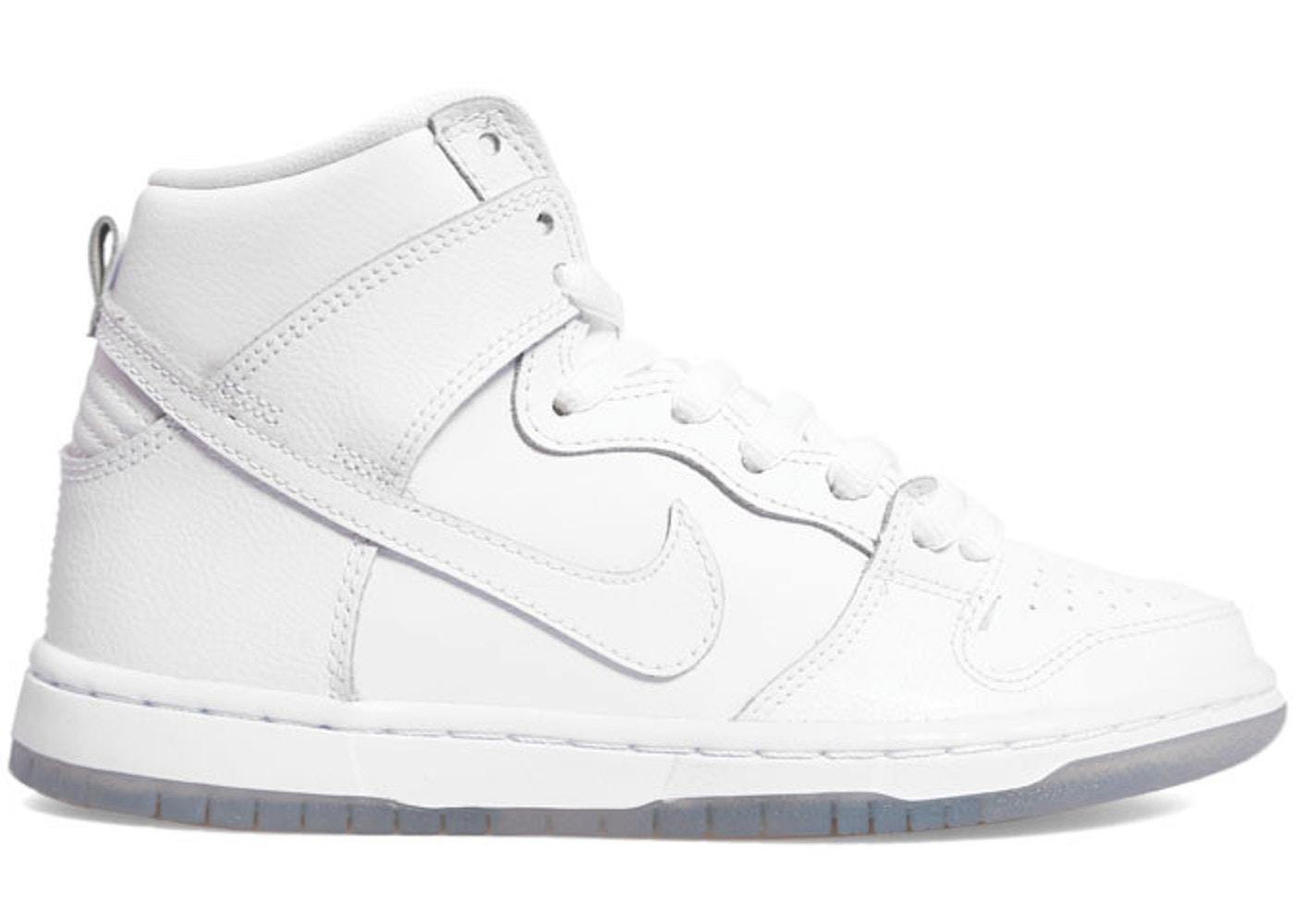 reputable site 6e3cd b1a24 Nike Dunk SB High White Ice