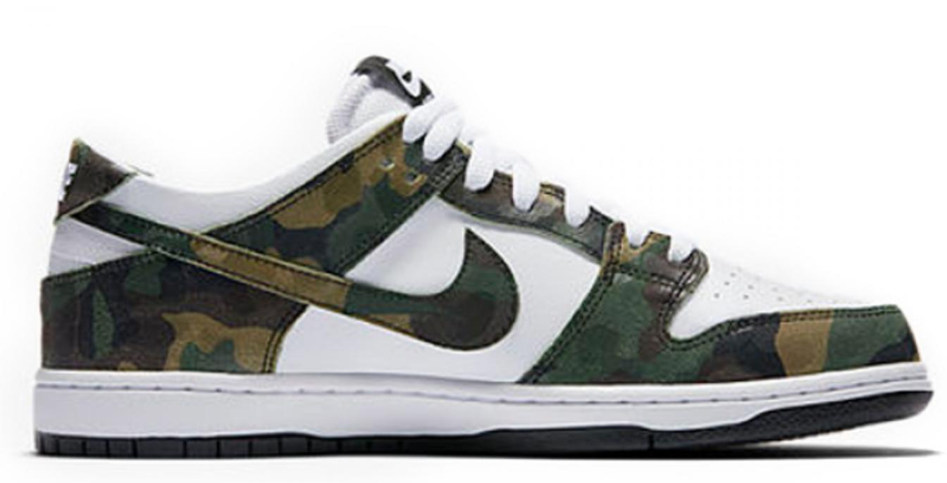 vente profiter Nike Dunk Sb Rétro Faible Camo Footlocker jeu Finishline Livraison gratuite best-seller Peu coûteux Nouveau SdlG7wJ9if