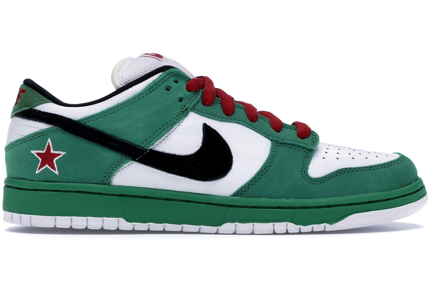 new concept e89a3 2df1d Nike Dunk SB Low Heineken - 304292-302