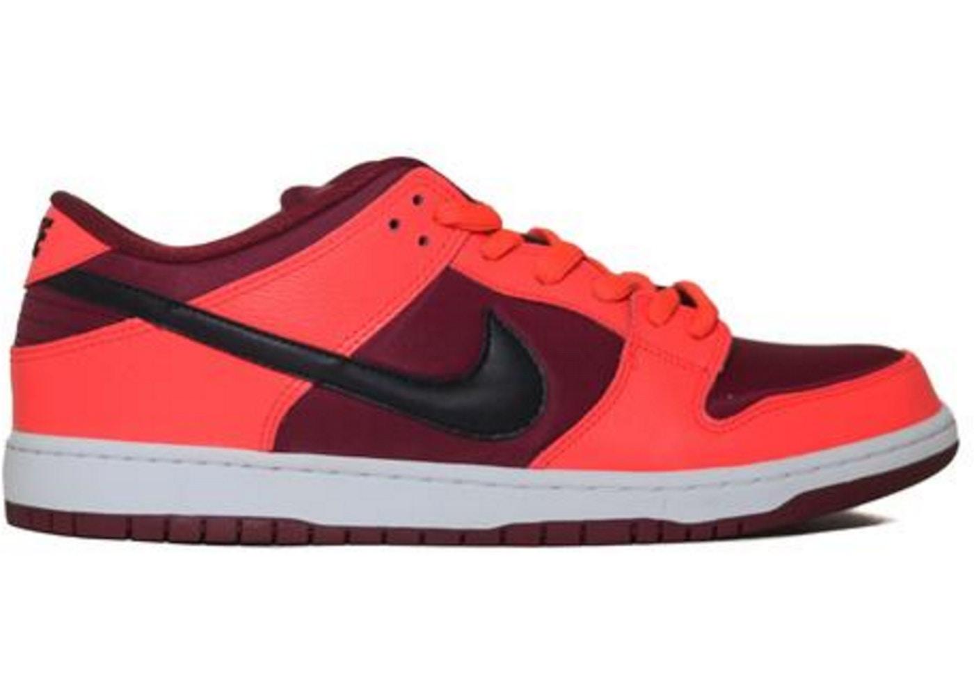 6711cd401418 Nike Dunk SB Low Laser Crimson - 304292-606