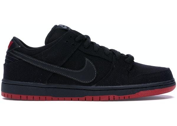 sports shoes 1e2ac 970bd Nike Dunk SB Low Levis Black Denim