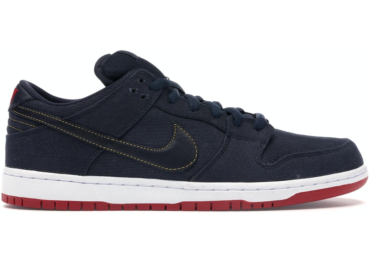 the latest 78646 5352e Nike Dunk SB Low Levis Blue Denim