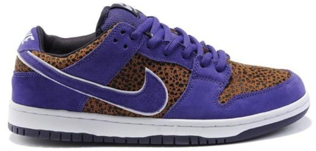 Nike Dunk SB Low Purple Safari - 313170-200