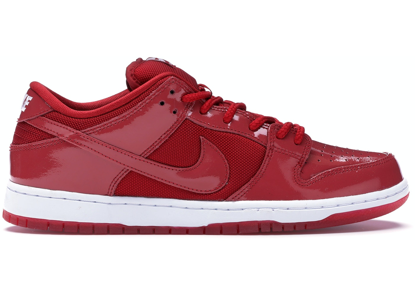 promo code 9dbc6 4dd62 Nike Dunk SB Low Red Patent Leather