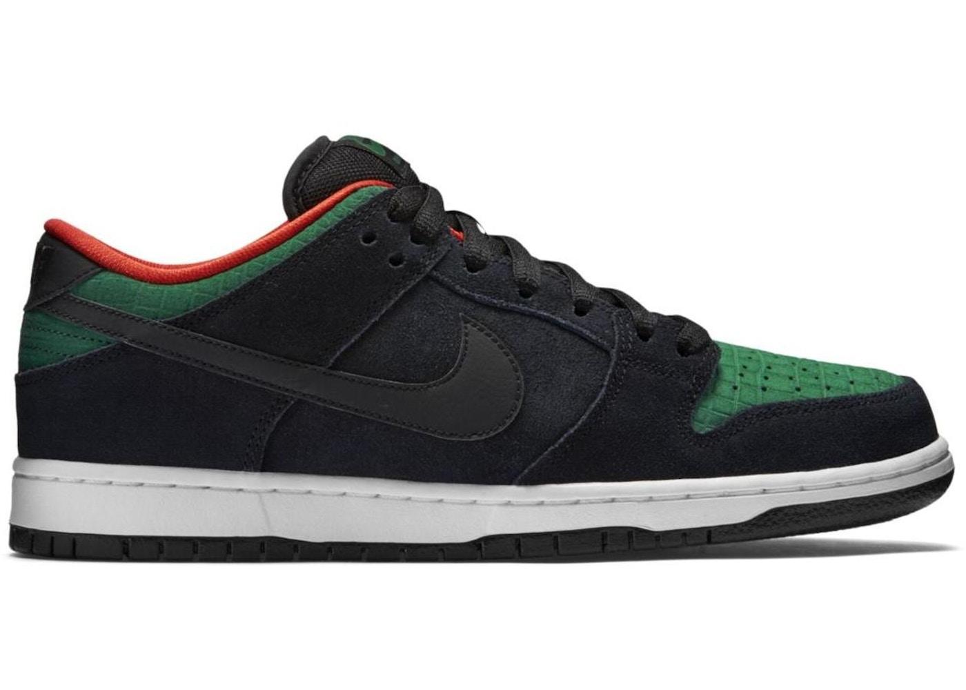 purchase cheap b0eb0 4eb15 Nike Dunk SB Low Reptile Gucci - 304292-055