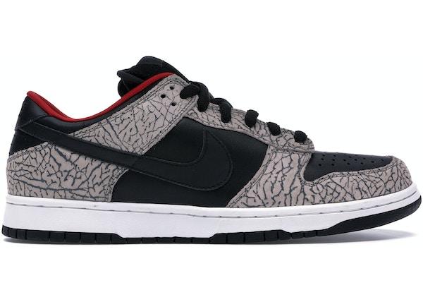 the best attitude 1a318 fa107 Nike Dunk SB Low Supreme Black Cement (2002)