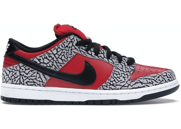 new product fb42a 93776 Nike Dunk SB Low Supreme Red Cement (2012)