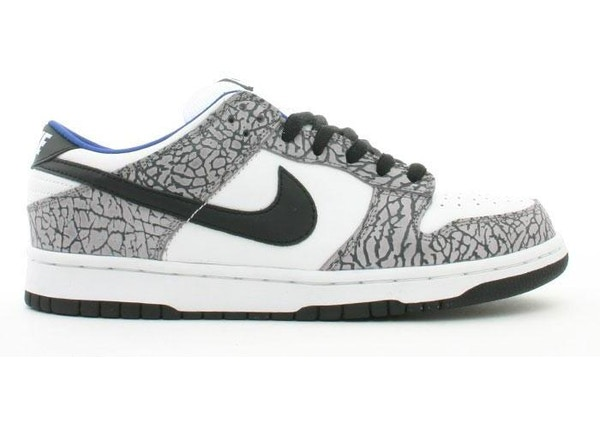 huge inventory 13920 5ea5a Nike Dunk SB Low Supreme White Cement (2002)