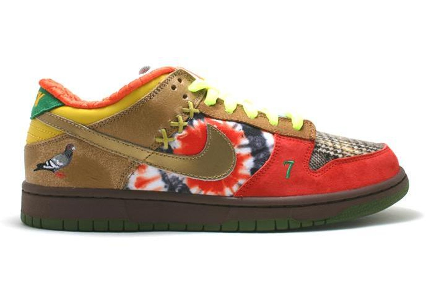 check out fa921 d5419 Nike Dunk SB Low What the Dunk - 318403-141