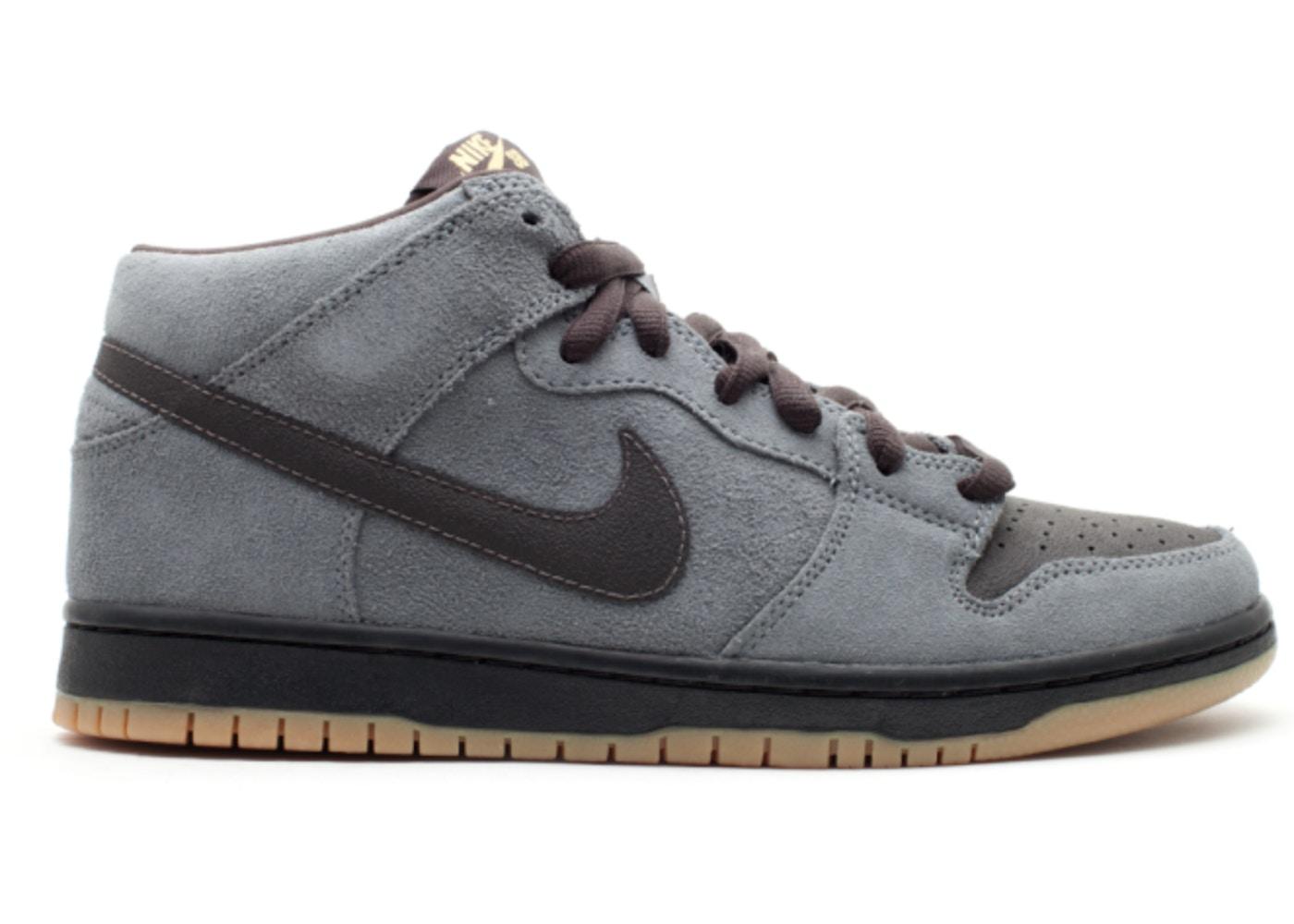 size 40 324a8 ce4c2 Nike Dunk SB Mid Charcoal Tar