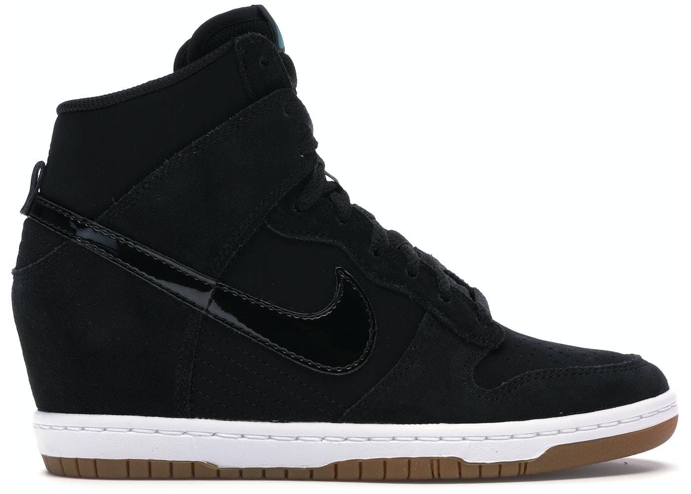 new product e5473 6e4f8 Nike Dunk Sky Hi Black Gum (W) - 644877-011