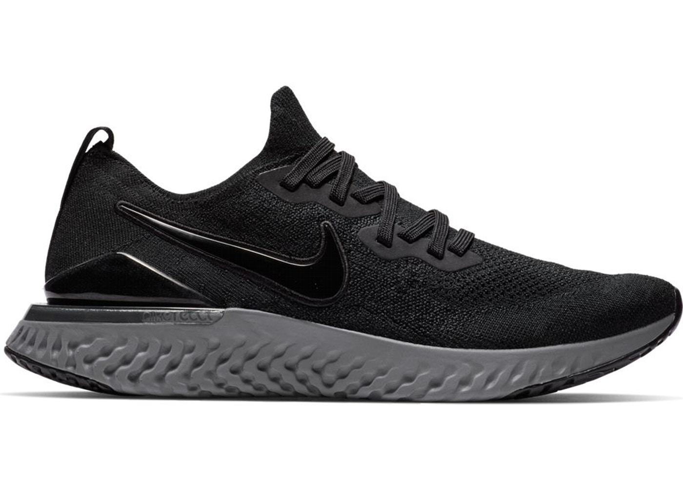 491879aef83c Nike Epic React Flyknit 2 Black Anthracite - BQ8928-001