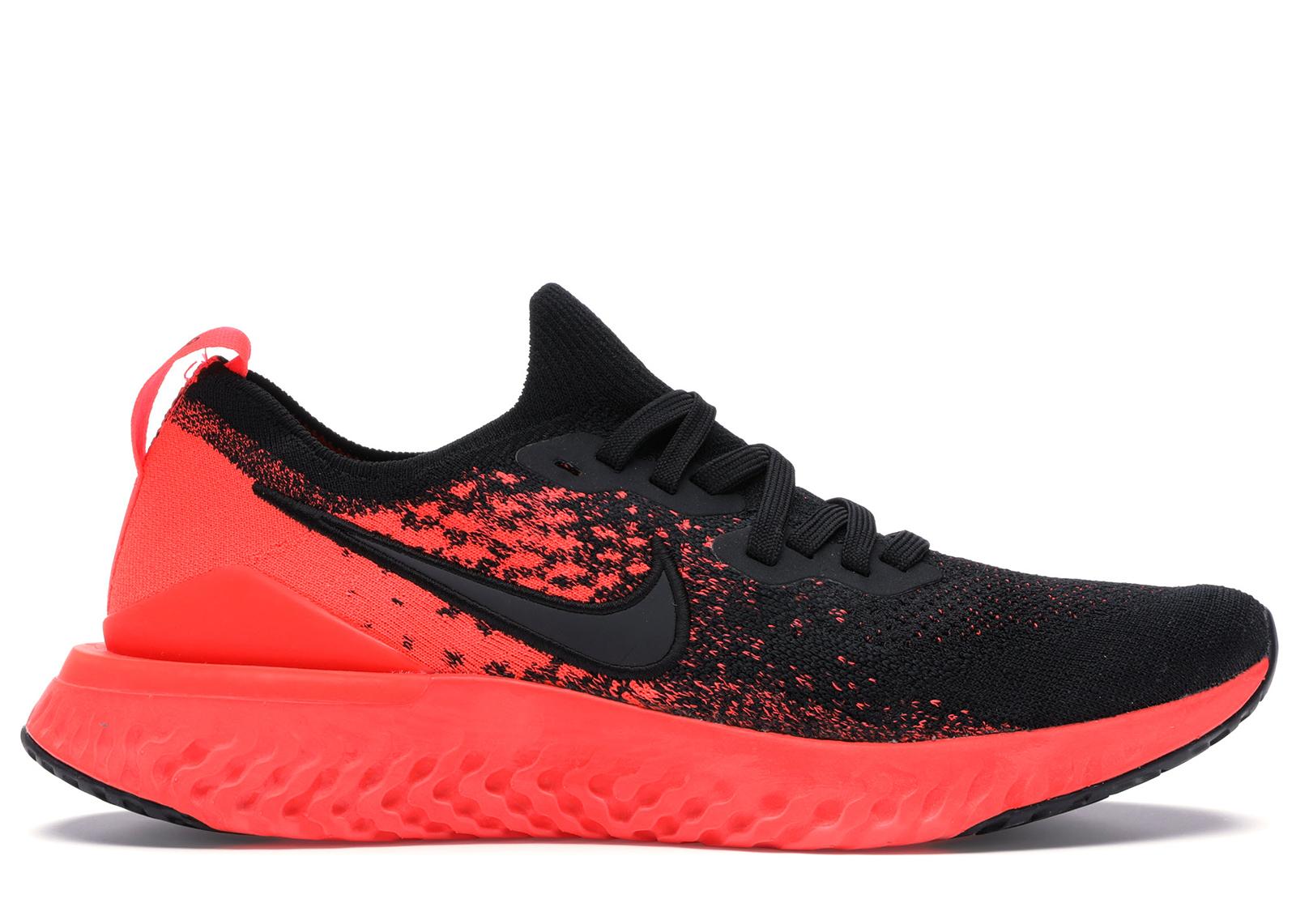 Nike Epic React Flyknit 2 Black Bright