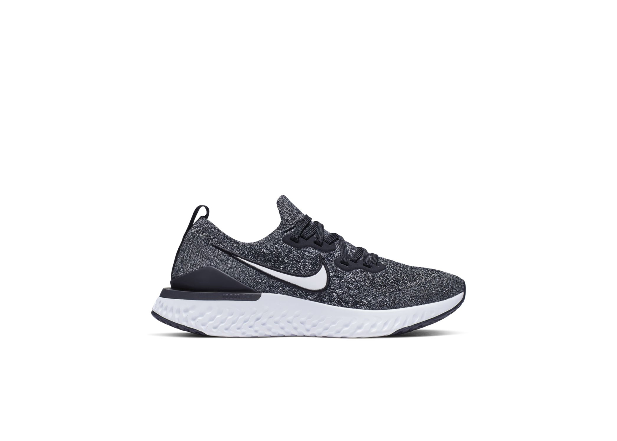 Nike Epic React Flyknit GS Shop Nike Epic React Flyknit 2 Black (Gs) In Black/White/White