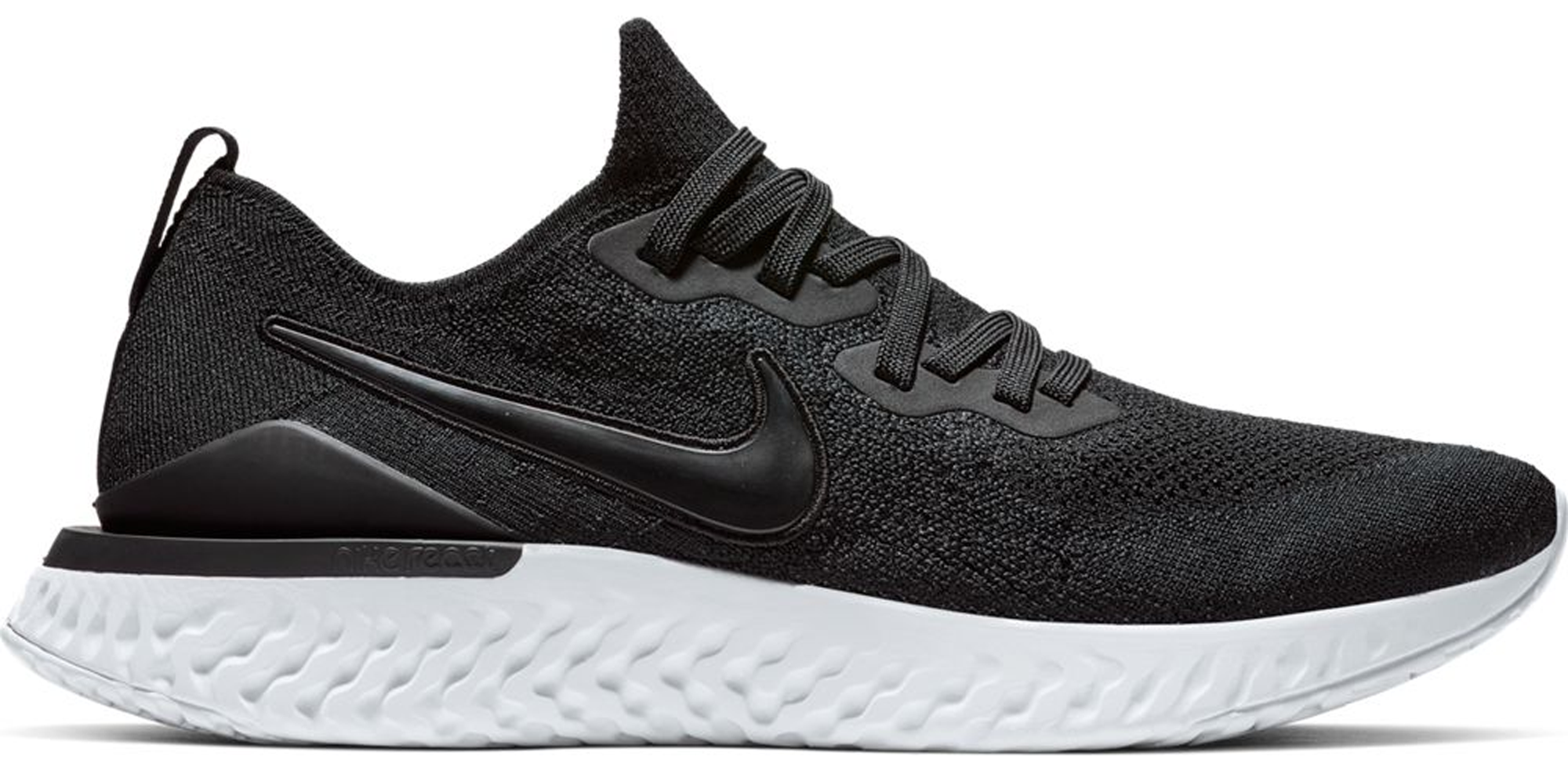 Nike Epic React Flyknit 2 Black White