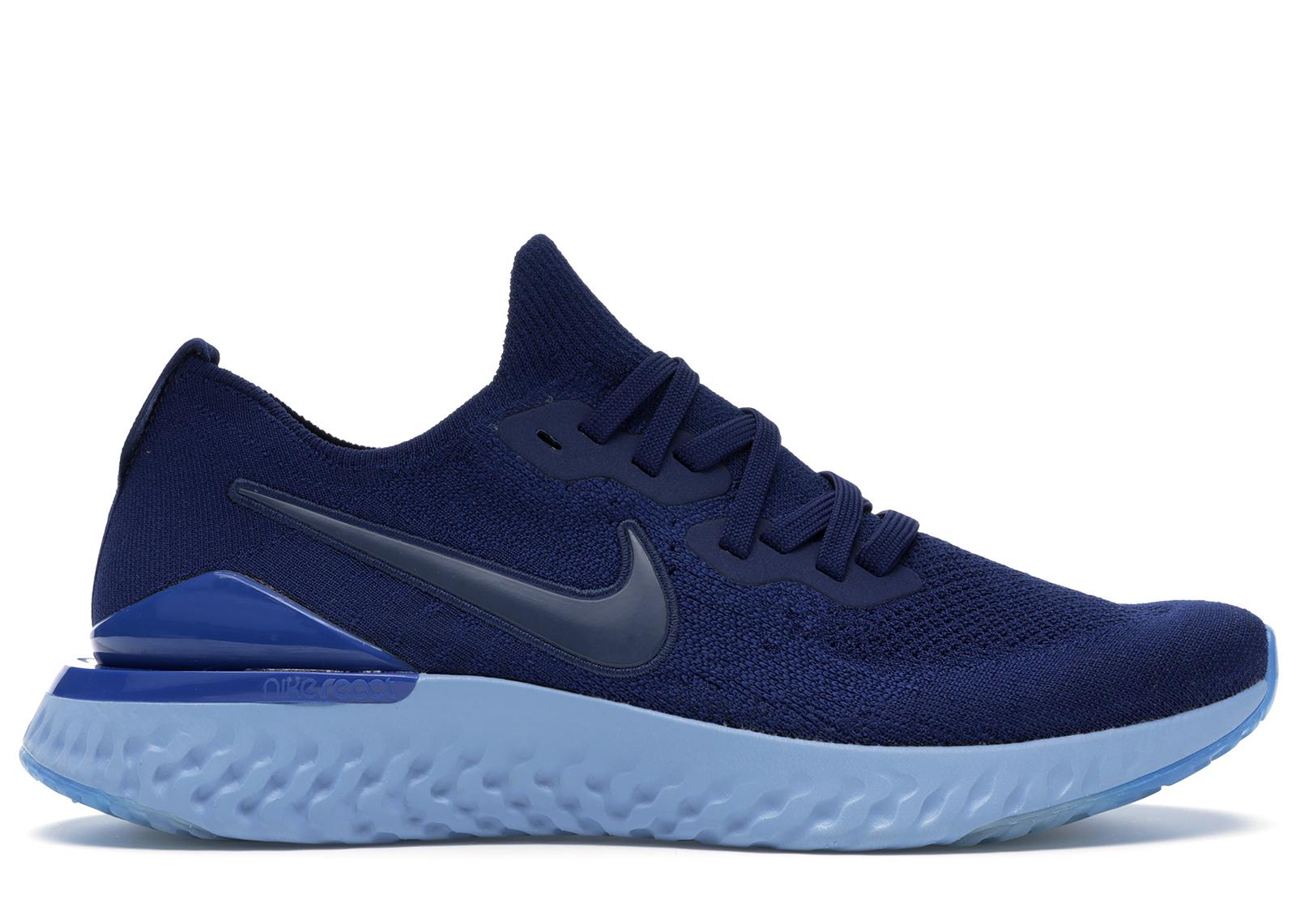 Nike Epic React Flyknit 2 Blue Void