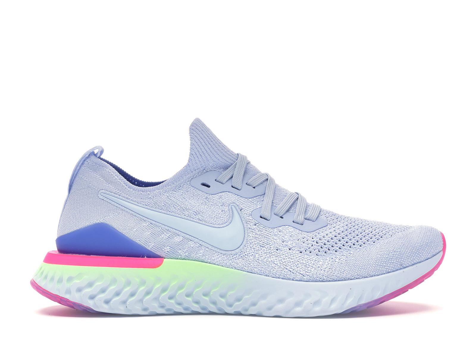 Nike Epic React Flyknit 2 Hydrogen Blue